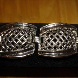 Vintage. Bracelet.  Silver Plated. 1940's